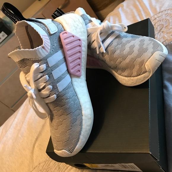 ef5d500aec9c7 adidas Shoes - Women s Adidas NMD R2 PrImeknit Shoes- Size 5